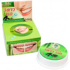 Тайская зубная паста с экстрактом угля бамбука