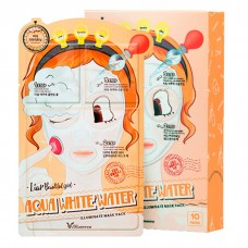 Трёхступенчатая увлажняющая тканевая маска для лица
