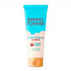Глубоко очищающая пенка с содой для снятия макияжа и ВВ крема