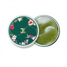 Гидрогелевые патчи с зеленым чаем
