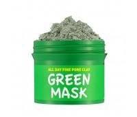 Очищающая маска для лица с глиной для сужения пор