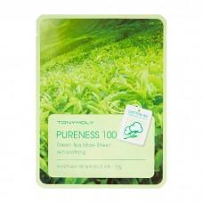 Тканевая маска с зеленым чаем