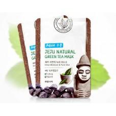 Тканевая маска с экстрактом зеленого чая
